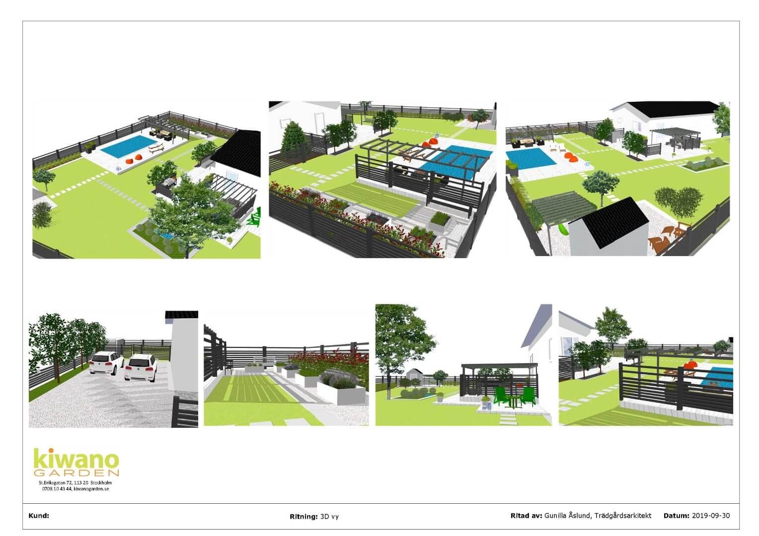 Designpaket trädgårdsdesign Stockholm